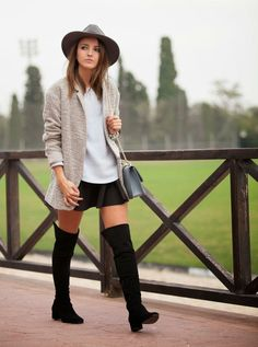 Consigue el look: looks con sombrero