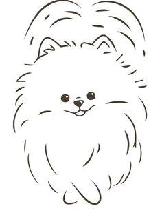 Cute Animal Drawings Kawaii, Cute Drawings, Cartoon Dog, Cartoon Drawings, Baby Elephant Drawing, Daisy Drawing, Cute Baby Dogs, Cute Puppy Videos, Dog Silhouette