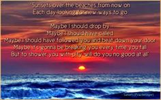 Sunsets - Powderfinger Music Lyrics, Music Quotes, Me Quotes, Call Maybe, Famous Last Words, Music Love, Make You Feel, Sunsets, Mental Health