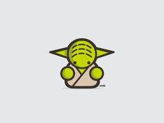 Adorable Vector Illustrations Of Pop-Culture Icons - DesignTAXI.com