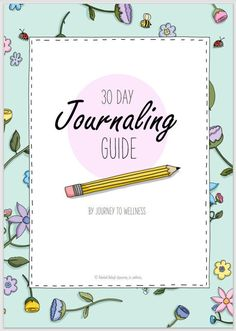 30 Day Journaling Guide Journey to Wellness digital workbook | Etsy Feelings Chart, Mindfulness Coach, Mental Health Advocate, Self Regulation, Medical Advice, Journal Prompts, Setting Goals, 30 Day, Journaling