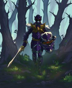 Koragg the Knight wolf by ninjakimm on DeviantArt