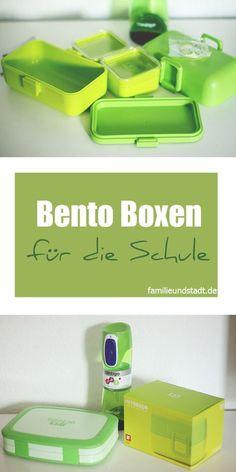 Bento Boxen für die Schule