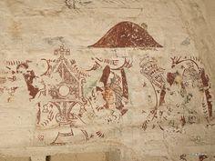 Kalkmålningar: Araslövs kyrka