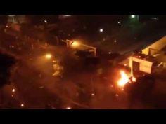 Barquisimeto, Edo. Lara - Enfrentamientos en la Av. Lara 7:55 pm 1/4/14