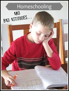 Homeschooling and Dealing with Bad Attitudes? Help is on the way from a mama of 7!