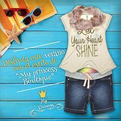 Ahora ropa para todos los días, a tu princesita le encantará !!  Ven a conocer nuestra nueva colección de verano  Poupin 1064 Local 4 - Boulevard María Betania  www.myprincess.cl