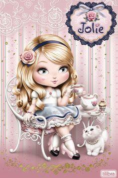Cantinho Encantado: Jolie Tilibra  www.suzannewoolcott.com More @ http://groups.google.com/group/FantasyMagie & http://groups.yahoo.com/group/fantasy_forum & http://groups.google.com/group/ScannedSeries & http://groups.yahoo.com/group/ScannedSeries