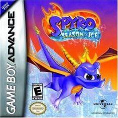 Gameboy Games, Nintendo Games, Ice Games, Game Of The Day, Ice Blocks, Spyro The Dragon, Nintendo Game Boy Advance, Autumn Fairy, Dragon Slayer