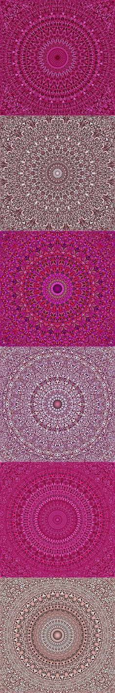 Buy 12 Pink Floral Mandala Seamless Patterns by DavidZydd on GraphicRiver. 12 seamless floral mandala pattern backgrounds in pink tones DETAILS: 12 JPG (RGB files) size: 12 geometr. Pink Floral Background, Floral Backgrounds, Mandala Pattern, Mandala Design, Crochet Flowers, Crochet Mandala, Pink Flowers, Heart Canvas, Granny Square Crochet Pattern