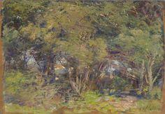 Ti-tree glade | Frederick McCUBBIN | NGV | View Work