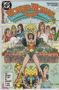 Wonder Woman V2 1.  NM. Feb 1987.  DC Comics by RubbersuitStudios #wonderwoman #comicbooks