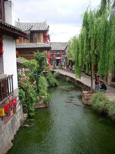 Lijiang, Yunnan, China. Shattered by an earthquake not long before my visit.