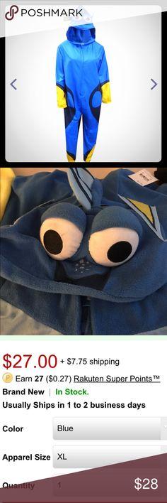 Union suite finding Dory Disney Pixar Finding Dory onesie for adults. Disney Intimates & Sleepwear Pajamas