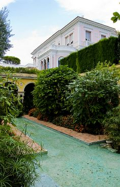 Villa Ephrussi de Rothschild, (Villa Île-de-France), seaside villa located at Saint-Jean-Cap-Ferrat on the French Riviera