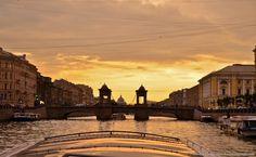 Интересный Питер - Отблески осеннего заката: реки и каналы Питера