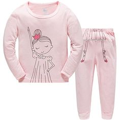 online shopping for Hugbug Toddler Girls Funny Dance Pajama Set from top store. See new offer for Hugbug Toddler Girls Funny Dance Pajama Set Girls Sleepwear, Sleepwear Sets, Girls Pajamas, Funny Pajamas, Best Pajamas, Kids Pjs, Kids Girls, Toddler Girls, Cute Pajama Sets