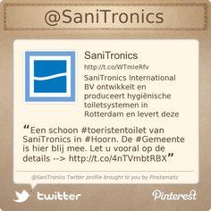 Een schoon #toeristentoilet van SaniTronics in #Hoorn. De #Gemeente is hier blij mee. Let u vooral op de details --> http://pinterest.com/sanitronics/persbericht-1-toeristentoilet-hoorn/ …