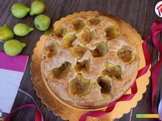 Torta di fichi e noci  #ricette #food #recipes