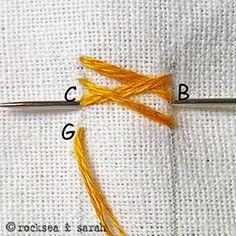 basket stitch | Sarah's Hand Embroidery Tutorials