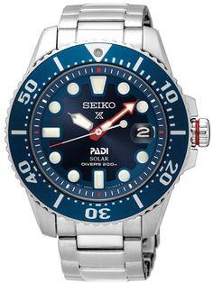 The Cool Continues ....           Solar.... Seiko PADI Prospex Dive Watch SNE435