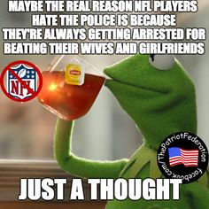 """In case you forgot, the actual """"reason"""" for disrespecting the Anthem is supposed to be police brutality, but apparently the """"reason"""" is not as important as the disrespect…Just in case you haven't heard """" THERE AREN'T ANY REASONS TO DISRESPECT THE FLAG OR ANTHEM."""" Unless you are just anti America."""