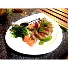La ferme aux orchidees  #tataki #food #foodporn #restaurant #martinique #yummiiiiiii  by serendipity_zd