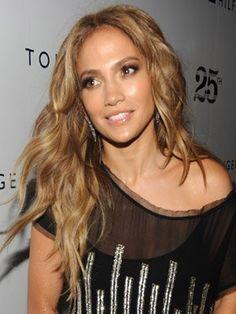 Jennifer Lopez's Long Layers