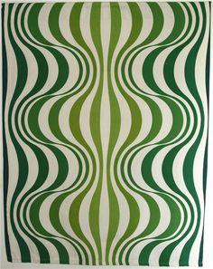 Tyg - Design: Verner Panton - Onion - 73/77 - Dekorativt som väggbonad