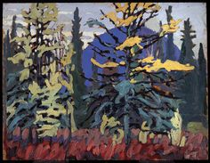 Exhibition: 'Painting Canada: Tom Thomson and the Group of Seven' at the Dulwich Picture Gallery, London – Art Blart Group Of Seven Artists, Group Of Seven Paintings, Tom Thomson, Emily Carr, Canadian Painters, Canadian Artists, Dulwich Picture Gallery, Art Gallery Of Ontario, Blue Hill