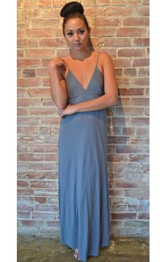 ultra soft bamboo maxi dress. $92 on Ethical Ocean. #eco