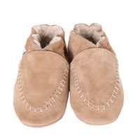 Cozy Moccasins, Taupe