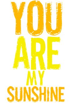 FREE downloadable Wall art - You are my sunshine Southern Rags