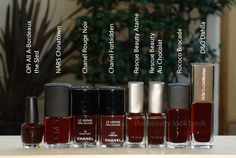 The Beauty Look Book: Chanel Rouge Noir Le Vernis: Can You Dupe It?