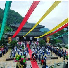 "[PHOTO] 160710   Aperçu du tournage du drama ""Hwarang: The Beginning"" dans lequel joue V !"
