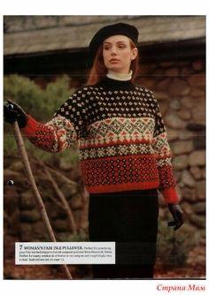 Fair Isle пуловер