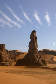 Moul n'ga Cirque in the Tadrart region, Southeast Algeria