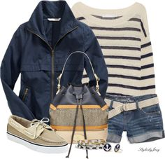 """Waiting For My Boat to Come In"" by stylesbyjoey on Polyvore"