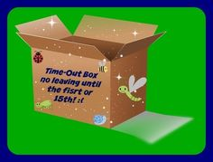 A Time-Out Box can help your children learn consequences and help your day go smoother!