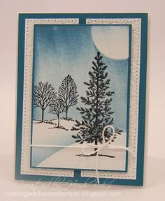FM145 Lovely Sympathy by RunningwScissorsStamper, Stampin' Up, Lovely as a Tree, Brayer, Friday Mashup