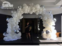 Balloon Decor And Events In Seattle - Balloon Designers Balloon Gate, Ballon Arch, Balloon Decorations, Birthday Party Decorations, Wedding Decorations, White Tent Wedding, Royal Baby Showers, Balloon Delivery, Custom Balloons