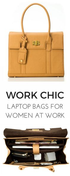 Spotted: The perfect laptop bags that look like purses! This women's tote is… Spotted: The perfect laptop bags that look like purses! This women's tote is a must-have for women that need to be organized on-the-go. Check out GRACESHIP's LONDON bag and Office Bags For Women, Laptop Bag For Women, Women Work Bag, Work Tote, Work Bags, Work Purse, Laptop Purse, Laptop Bags, Briefcase Women