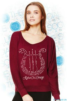 AXO Symphony Lyre Long Sleeve   The Social Life  Can they make this into an AXiD quill?
