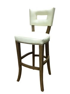 """Tatum+Counter+Stool+-+Hand-carved+Hardwood+Detailed+Frame Oly Studio  18""""W+x19.7""""D+x+43.25""""H Seat:+30""""H"""