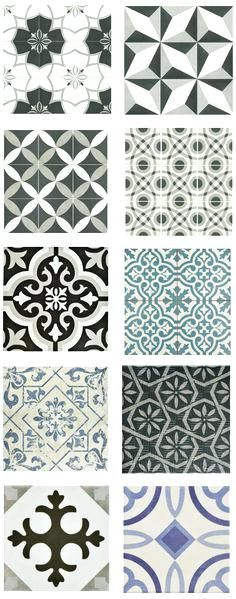 Cement Tile Shop Handmade Bordeaux Black And Whiteblack White Bathroom Design Ideas  Floor Tiles – thematador.us