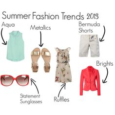 Summer Fashion Trends 2013 by momentarily, via Polyvore