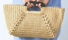 Crochetemoda: Bolsa de Crochet; with chart