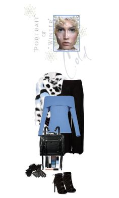 """Portrait of Winter"" by juliehooper ❤ liked on Polyvore featuring Fendi, Rick Owens, BCBGMAXAZRIA, McQ by Alexander McQueen, JINsoon, Clé de Peau Beauté, Marc Jacobs, Witchery and Maison Fabre"