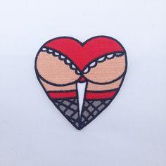 Metadope - Butt Heart Patch