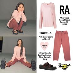 Kpop Fashion Outfits, Blackpink Fashion, Spring Fashion, Casual Outfits, Womens Fashion, Dr Martens Airwair, Lisa, Vintage Hollywood, Her Style